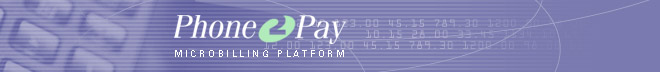 Phone2Pay - Microbilling platform